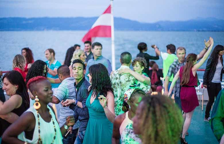 Single party schiff bodensee